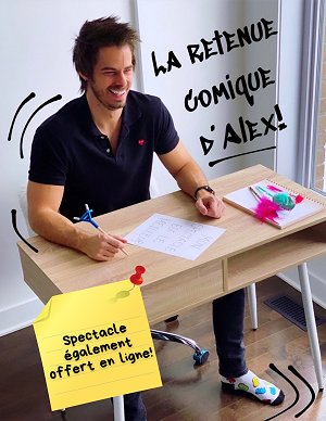 alex roof humoriste spectacle pour ecole 1