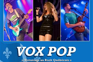 vox pop hommage au quebec groupe band 3